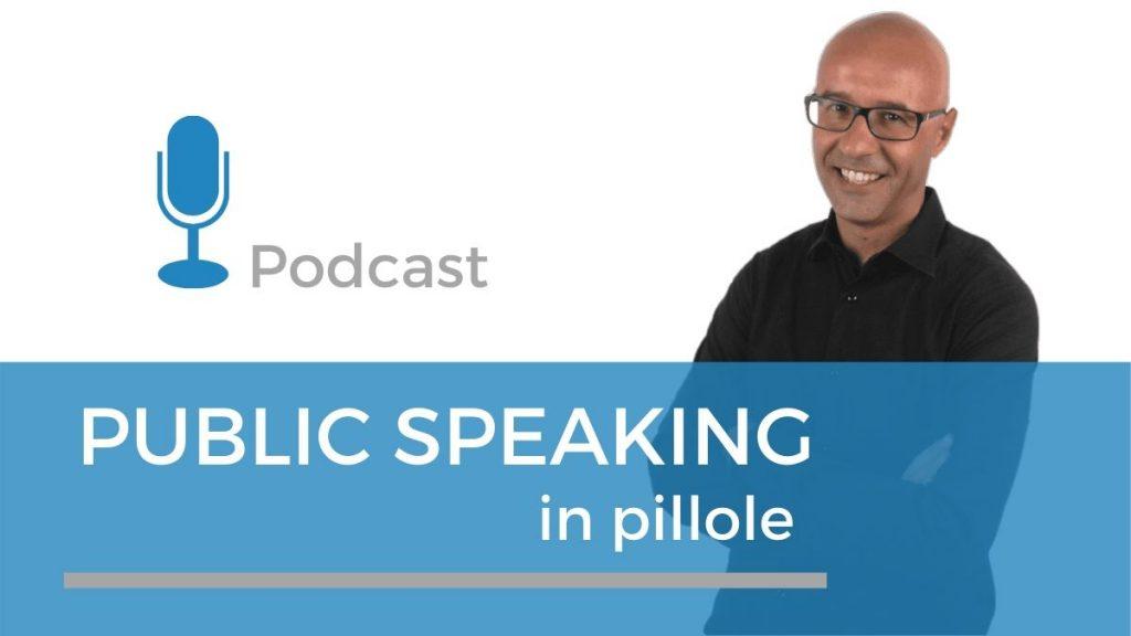 andrea masiero conduttore el podcast public speaking in pillole per imparare a parlare in pubblico